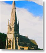 St Mary's Church, Studley Royal  Metal Print