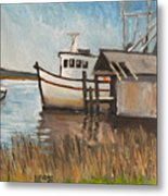 St Mary's Shrimp Boat  Metal Print