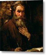 St Matthew And The Angel Metal Print