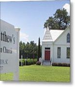 St. Matthews Lutheran Church Metal Print