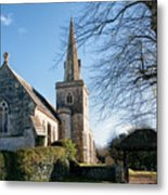 St Michael And All Angels Church -- Little Bredy Metal Print
