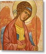 St. Michael Archangel - Jcami Metal Print