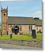 St Michael's Church At Willington Metal Print