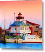 St. Michael's Lighthouse Metal Print