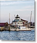 St Michael's Maryland Lighthouse Metal Print