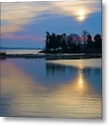 St. Michael's Sunrise Metal Print by Bill Cannon