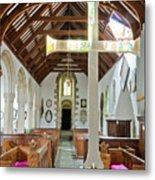 St Mylor Altar Cross Metal Print