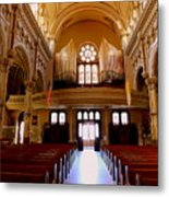 St. Nicholas Of Tolentine Church - Iv Metal Print