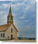 St Olafs Church Metal Print