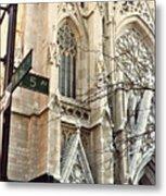 St. Patrick's Cathedral Metal Print