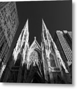 St Patrick's Cathedral  Metal Print