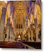 St Patrick's Cathedral Metal Print
