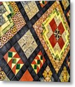 St. Patrick's Cathedral Mosaic Floors Metal Print