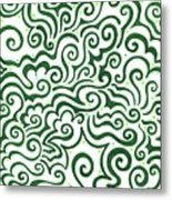 St Patrick's Day Abstract Metal Print