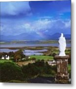 St Patricks Statue, Co Mayo, Ireland Metal Print