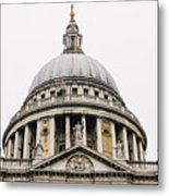 St Paul Cathedral Dome Metal Print
