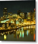 St. Paul In The Evening Metal Print