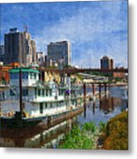 St Paul Tugboat Metal Print