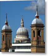 St Pauls An Alternate View Metal Print