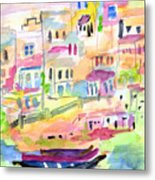 St. Paul's Bay Malta Memories Metal Print