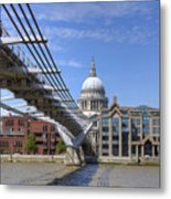 St Paul's Cathedral Metal Print