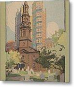 St. Paul's Chapel Metal Print