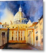 St. Peters Basilica Metal Print