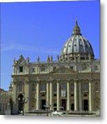 St Peters Basilica Metal Print