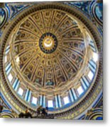 St. Peters Inside The Dome Metal Print