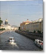 St. Petersburg Canal - Russia Metal Print