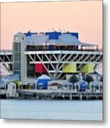 St. Petersburg Pier Metal Print