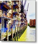 St Saviours Wharf Metal Print