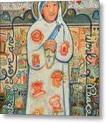 St. Teresa Of Kolkata Metal Print