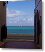 St. Thomas Alley 1 Metal Print