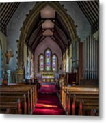 St Thomas Church, St Dogmaels Metal Print