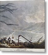 St. Thomas: Hurricane, 1819 Metal Print