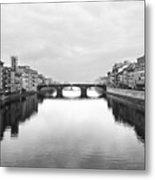 St. Trinity Bridge, Florence Metal Print