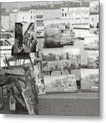St. Tropez Paintings Metal Print