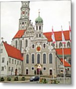 St. Ulrich's And St. Afra's Abbey Metal Print