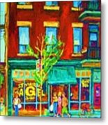 St Viateur Bagel Shop Metal Print