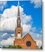 St Wenc On A Bright Summer Day Metal Print