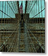 Stable - Brooklyn Bridge Metal Print