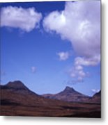 Stac Pollaidh Inverpolly National Nature Reserve Wester Ross Scotland Metal Print