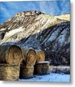 Stacked Mountains  Metal Print