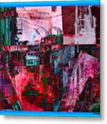 Stackin' The Alley Walk About Metal Print