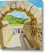 Stadium At Olympia, Greece  Metal Print