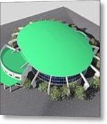 Stadium Model Metal Print