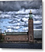 Stadshuset Color II Metal Print