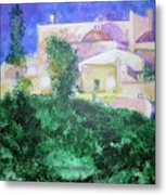 Staeulalia Church - Lit Up At Night Metal Print