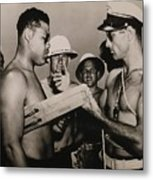 Staff Sergeant Joe Louis, World Metal Print by Everett